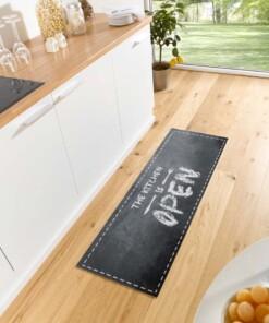 """Keukenloper """"The kitchen is open"""" 102612 Wasbaar 30°C - sfeer, thumbnail"""