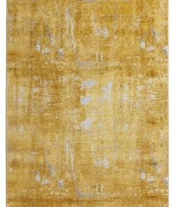 Vintage vloerkleed golden Gate - goud/zilver - overzicht boven