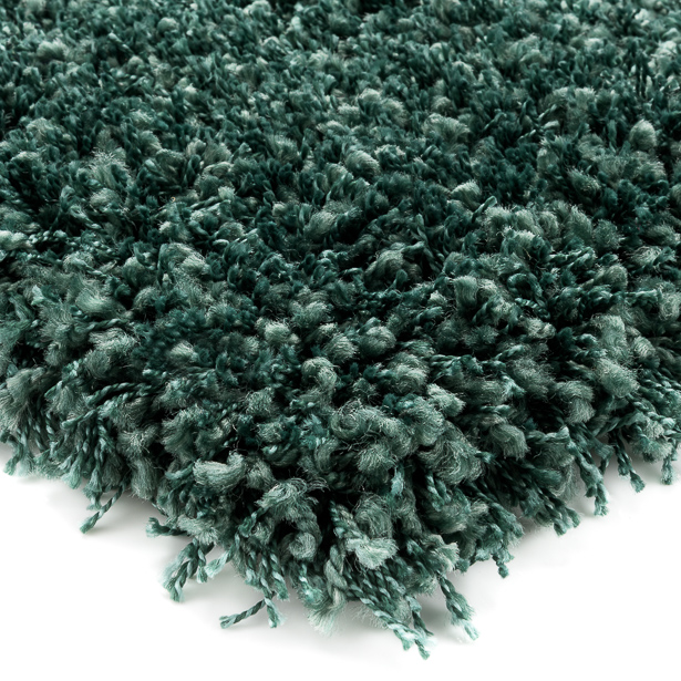 Hoogpolig Vloerkleed Donker Groen, Shaggy Prime
