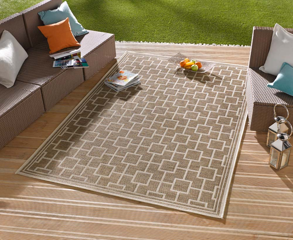 binnen buiten vloerkleed bay 102484 tapeso. Black Bedroom Furniture Sets. Home Design Ideas
