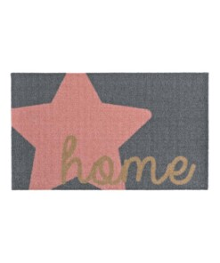 Deurmat Star Home 102543 Wasbaar 30°C - overzicht boven, thumbnail