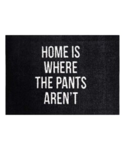 "Deurmat ""Home Is Where The Pants Aren't"" 102849 - overzicht boven, thumbnail"