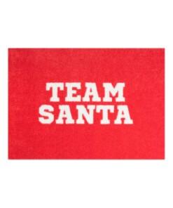 Deurmat Kerst Team Santa 102868 - overzicht boven, thumbnail