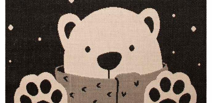 Vloerkleed met beer