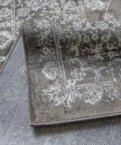 Vloerkleed Joy de Vivre Feather donkerbruin 3333 close-up