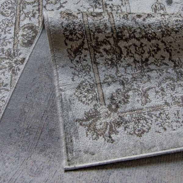 Vloerkleed Joy de Vivre Feather grijs 5353 close-up