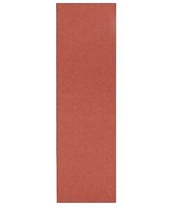 Effen loper Casual - terracotta - overzicht boven