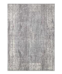 Vintage vloerkleed Elysium - grijs/crème - overzicht boven