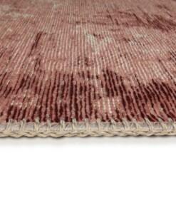 Vintage Vloerkleed Flow - Pink Sun - close up zijkant