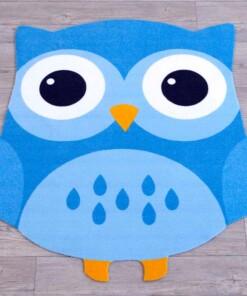 Speelkleed Uil Blauw - sfeer, thumbnail