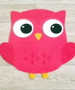 Speelkleed Uil - Roze - overzicht sfeer, thumbnail