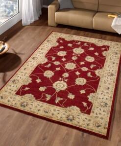 Oosters Vloerkleed Royal - rood/beige - sfeer, thumbnail
