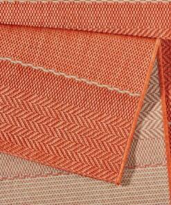 Balkon tapijt Sunshine - terracotta - close up