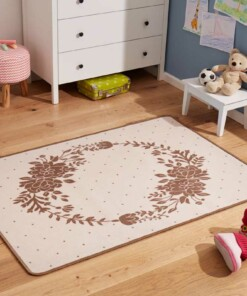 Kindervloerkleed Bloemenkrans 102655 - sfeer, thumbnail