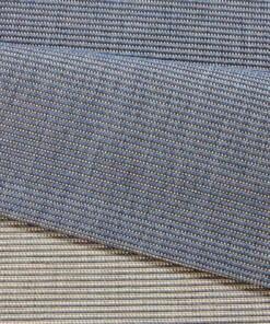 Balkonkleed effen Match - blauw - close up