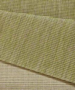 Balkonkleed effen Match - groen - close up