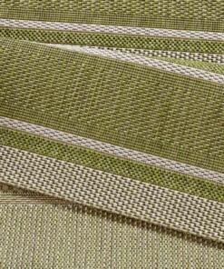 Loper binnen & buiten Strap - groen - close up