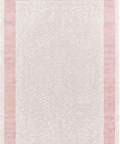Vloerkleed Taboo 1305 - crème/roze - overzicht boven, thumbnail