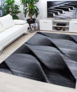 Modern Vloerkleed Parma 9240 - zwart/grijs - sfeer, thumbnail
