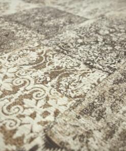 Patchwork vloerkleed Deco Corretto - close up