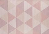 geometrisch buiten vloerkleed