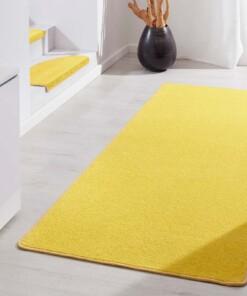 Moderne effen loper Fancy - geel - sfeer, thumbnail