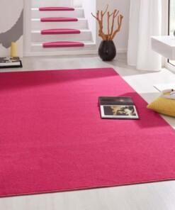 Modern effen vloerkleed Fancy - roze - sfeer, thumbnail