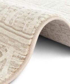 Design vloerkleed Roanne Elle Decor - crème/beige - close up