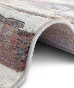 Design vloerkleed Cavaillon Elle Decoration - meerkleurig - close up