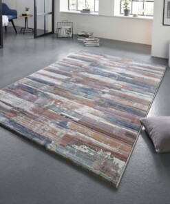 Design vloerkleed Cavaillon Elle Decor - meerkleurig - sfeer, thumbnail