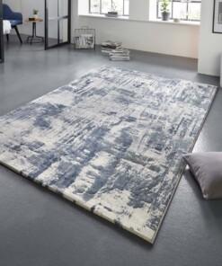 Design vloerkleed Vernon Elle Decor - blauw/grijs - sfeer, thumbnail