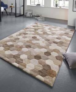 Design vloerkleed Manosque Elle Decor - beige/bruin - sfeer, thumbnail