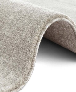 Design vloerkleed Vanves Elle Decoration - lichtgrijs/crème - close up