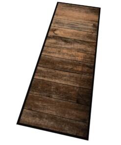 Keukenloper wild hout 103809 Wasbaar 30°C - overzicht schuin, thumbnail