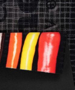 Keukenloper Colored Kitchen Wasbaar 30°C 103832 - close up