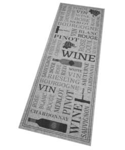 Keukenloper Wine Lovers Wasbaar 30°C 103834 - overzicht schuin, thumbnail