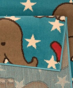 Vloerkleed Olifant Bambini 103074 - close up