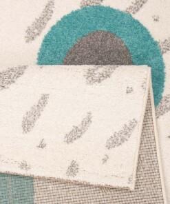 Kindervloerkleed teddy Boe - crème - close up