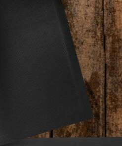 """Deurmat """"Shabby Home"""" - bruin/grijs- wasbaar 30°C - close up"""