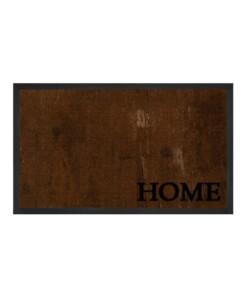 """Deurmat """"Deluxe Home"""" - bruin - wasbaar 30°C - overzicht boven, thumbnail"""