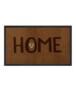 """Deurmat """"Lovely Home"""" - Antraciet/grijs - wasbaar 30°C - overzicht boven, thumbnail"""