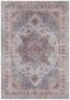 Vintage vloerkleed Anthea - mauve roze - overzicht boven, thumbnail