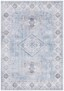 Vintage vloerkleed Gratia - oud roze - overzicht boven, thumbnail