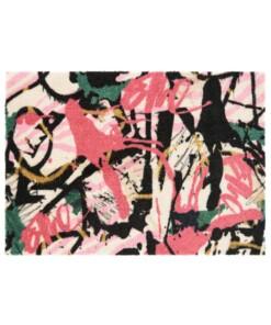 Design deurmat Artists Elle Decor - roze/multi - overzicht boven, thumbnail