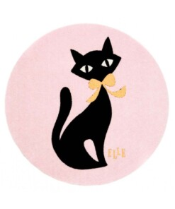 Kinderkleed kat Elle Decor - roze - overzicht boven, thumbnail