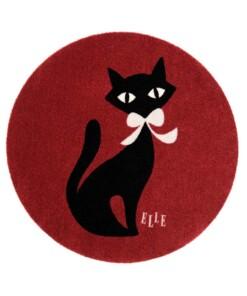 Kinderkleed kat Elle Decor - bordeauxrood - overzicht boven, thumbnail