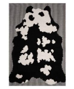 Kinderkleed Panda Schaduw - zwart/wit - overzicht boven, thumbnail