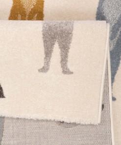 Kinderkleed Stokstaartjes - crème/meerkleurig - close up