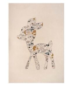 Kinderkleed Hertje - beige/meerkleurig - overzicht boven, thumbnail