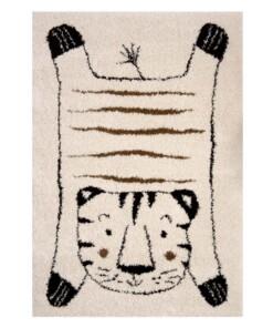Kinderkleed Tijger Baxley - crème - overzicht boven, thumbnail